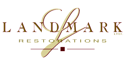Landmark Restorations and Envelope Logo