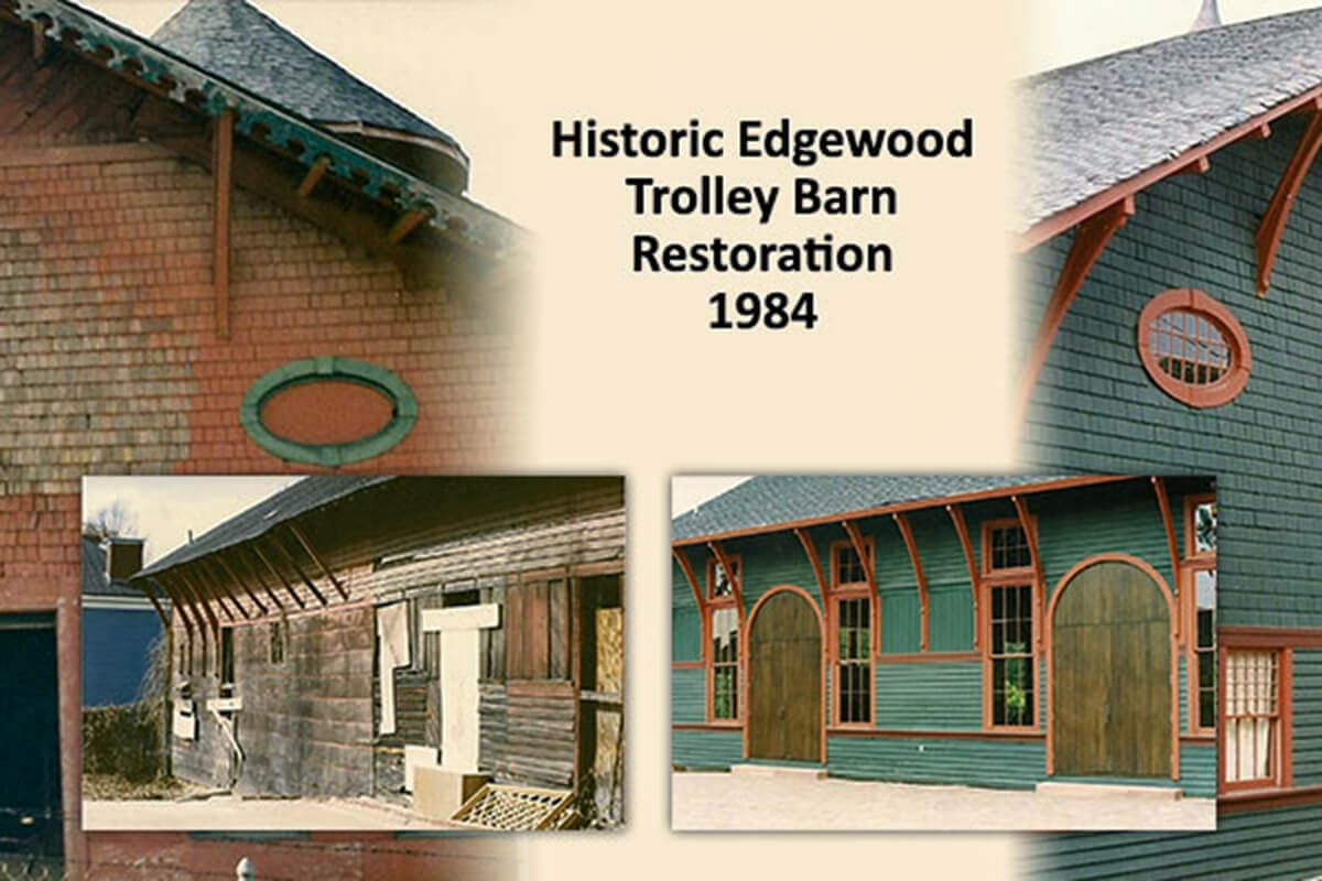 1984 Historic Trolley Barn Restoration and Preservation Project