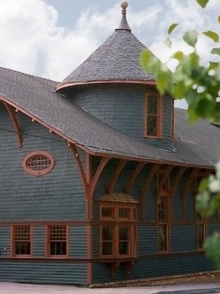 1984 Historic Trolley Barn Perfectly Restored to its Natural Beauty
