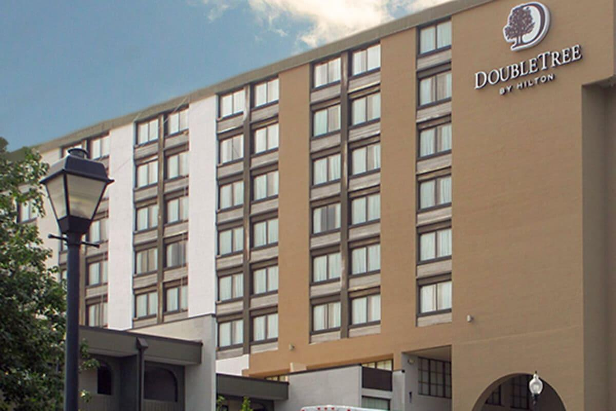 Completed Waterproofing and Facade Restoration Work for Double-Tree Hotel