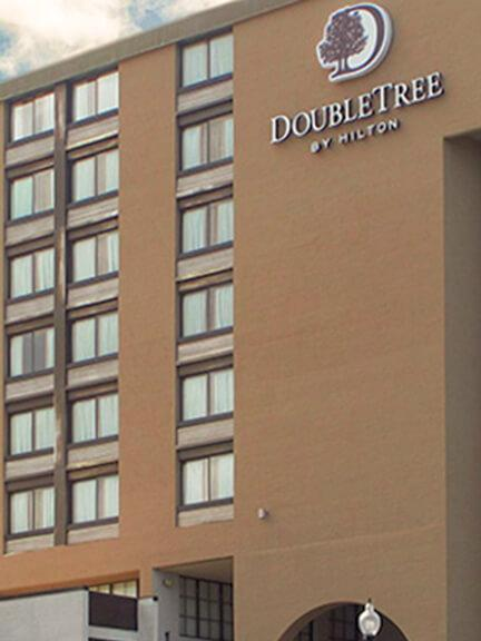 Hotel Exterior Waterproofing and Skylights Replacement   Double-Tree